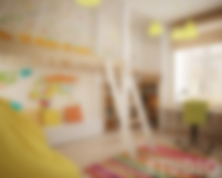 Детские комнаты в . Автор – MIKOŁAJSKAstudio