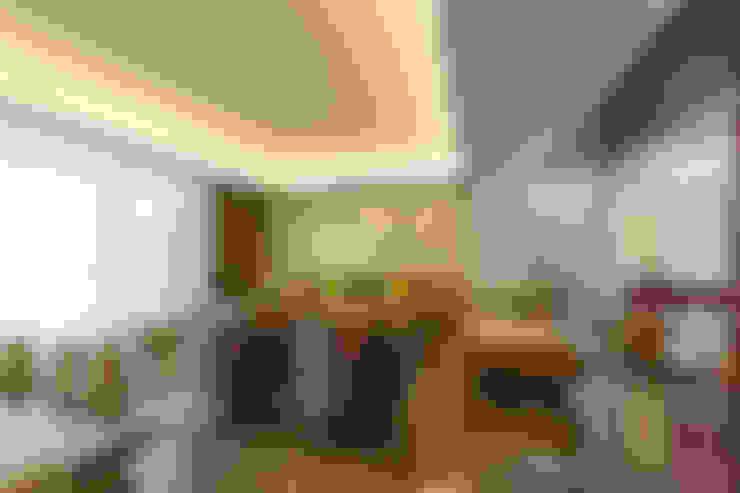 Salas de estilo  por Enrique Cabrera Arquitecto