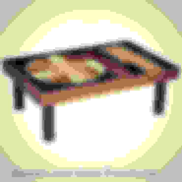 durak art deco & modern – 70's Ceramic Coffee Table  Designed by Roger Capron :  tarz Oturma Odası
