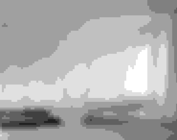 Projekty,  Sypialnia zaprojektowane przez Brandlhuber+ Emde, Schneider