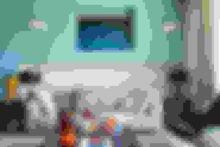 غرفة المعيشة تنفيذ PDV studio di progettazione