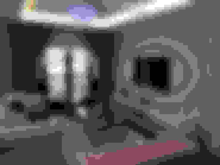 Salas de estar  por HEBART MİMARLIK DEKORASYON HZMT.LTD.ŞTİ.