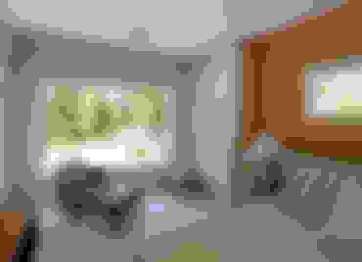 غرفة نوم تنفيذ Estudio Sespede Arquitectos