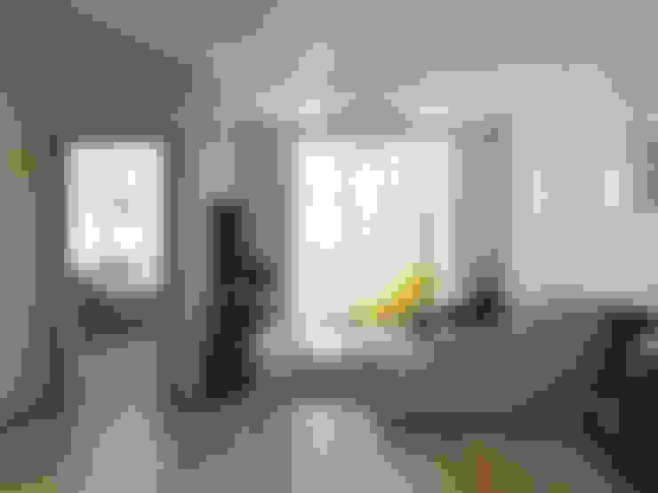 Квартира однокомнатная: Гостиная в . Автор – Оксана Мухина