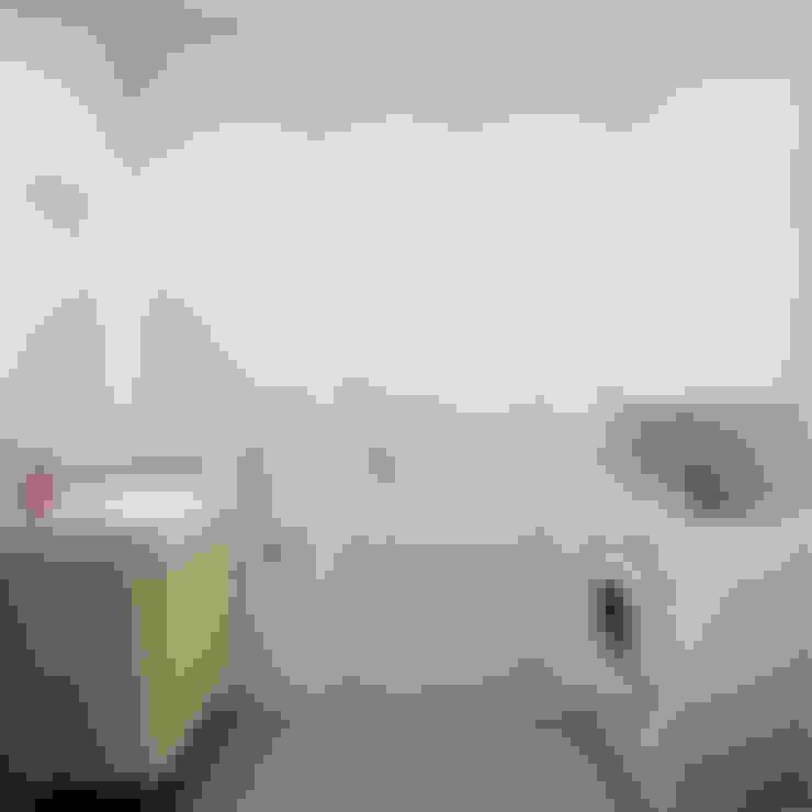 Casas de banho  por Ekaterina Donde Design