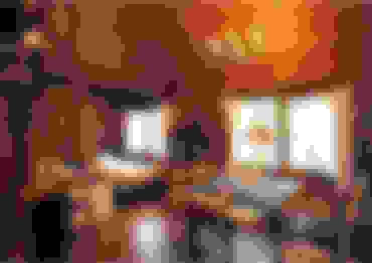 Cottage Style / コテージスタイル:  tarz Oturma Odası