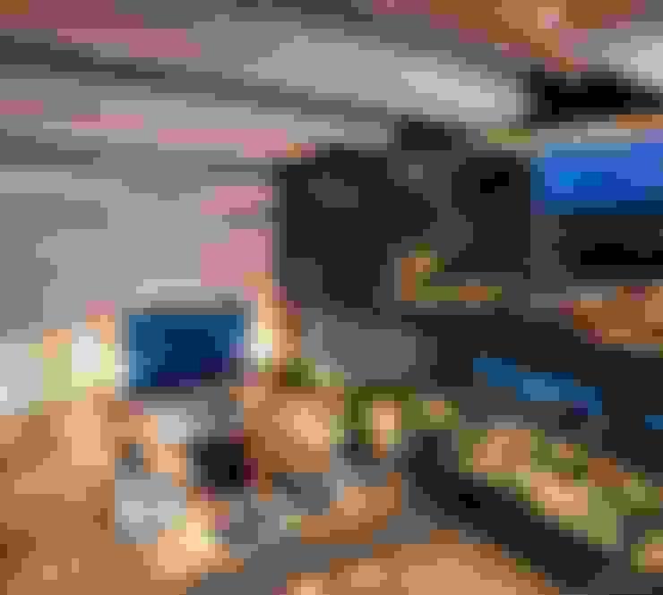 غرفة المعيشة تنفيذ GLR Arquitectos