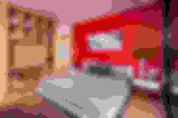 غرفة نوم تنفيذ GLR Arquitectos