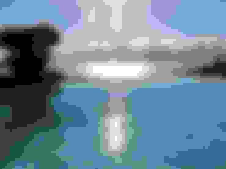 vista piscina : Piscinas  por Arquitetura Juliana Fabrizzi