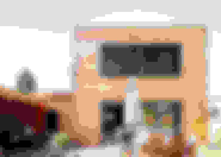 Casas de estilo  de Cendrine Deville Jacquot, Architecte DPLG, A²B2D