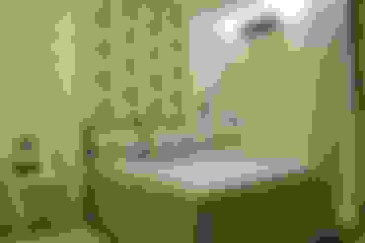 غرفة نوم تنفيذ Ana Paula e Sanderson Arquitetura