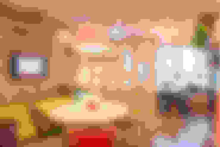 Oficinas de estilo  por Bloom Arquitetura e Design
