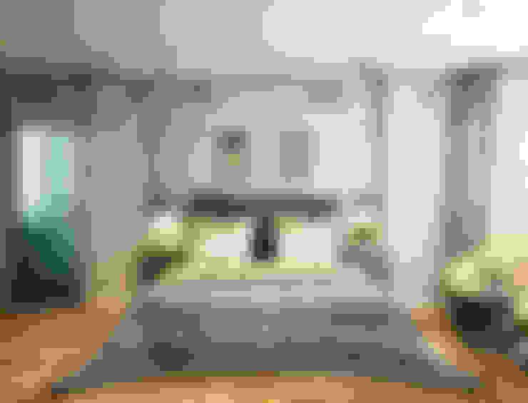 """""""Cat and mouse""""-спальня в загородном доме.Визуализация-Иван Беломестнов.: Спальни в . Автор – Marina Sarkisyan"""