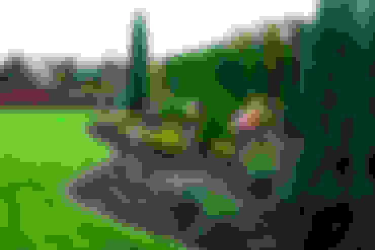 Wielopoziomowy ogród: styl , w kategorii Ogród zaprojektowany przez LandscapeDesign.pl