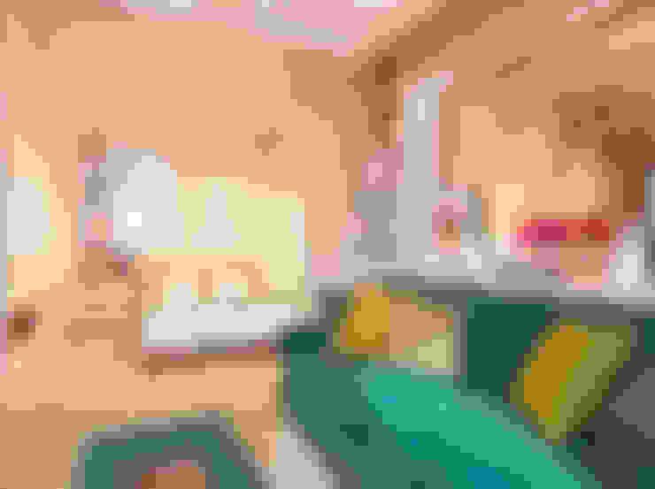 Рычагова, 30 м²: Гостиная в . Автор – Bronx