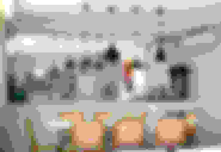 Comedores de estilo  por Helô Marques Associados