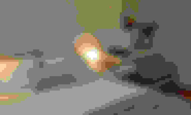 Dormitorios de estilo  por Helô Marques Associados
