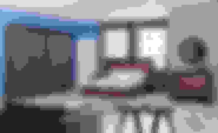 Dormitorios de estilo  por Mahir Mobilya