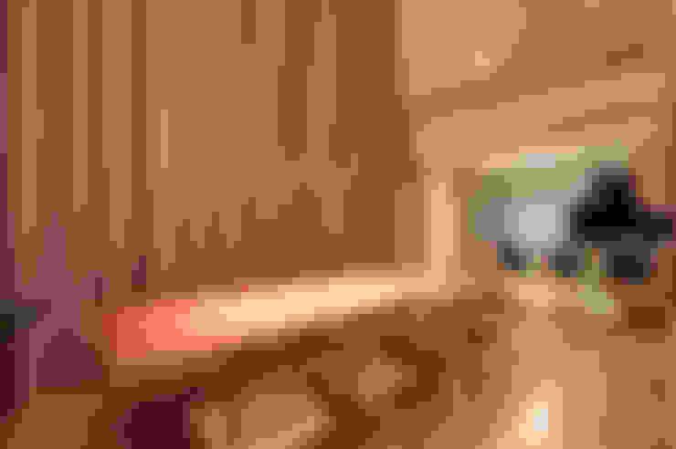 Residência TF: Salas de jantar  por ÓBVIO: escritório de arquitetura
