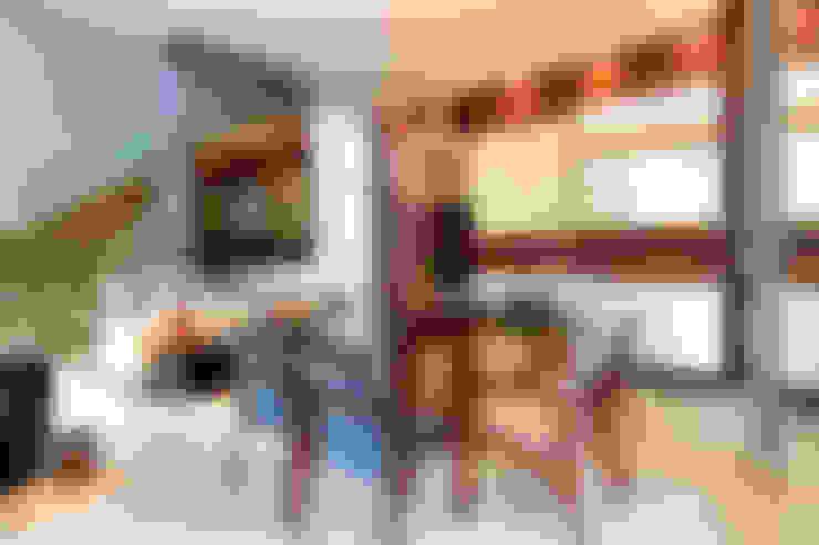 Столовые комнаты в . Автор – Maina Harboe Arquitetura