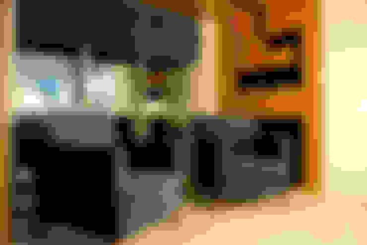 Living room by ROAS Mimarlık