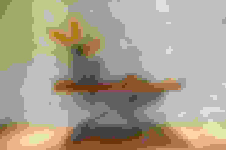 Apartamento em Belo Horizonte: Sala de jantar  por Lívia Bonfim Designer de Interiores