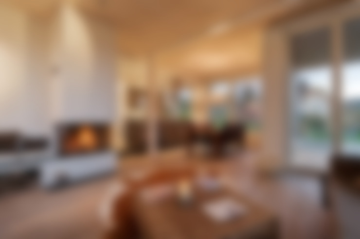 Living room by Giesser Architektur + Planung