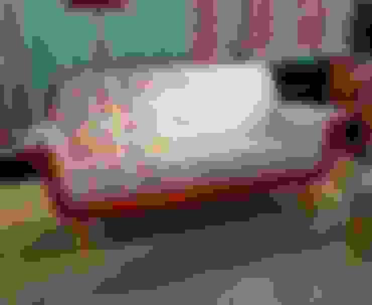 """Sillon """"Chet"""": Livings de estilo  por CASA FAD"""