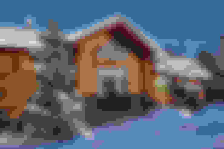 Casas de estilo  por Архитектурная студия 'Солнечный дом'