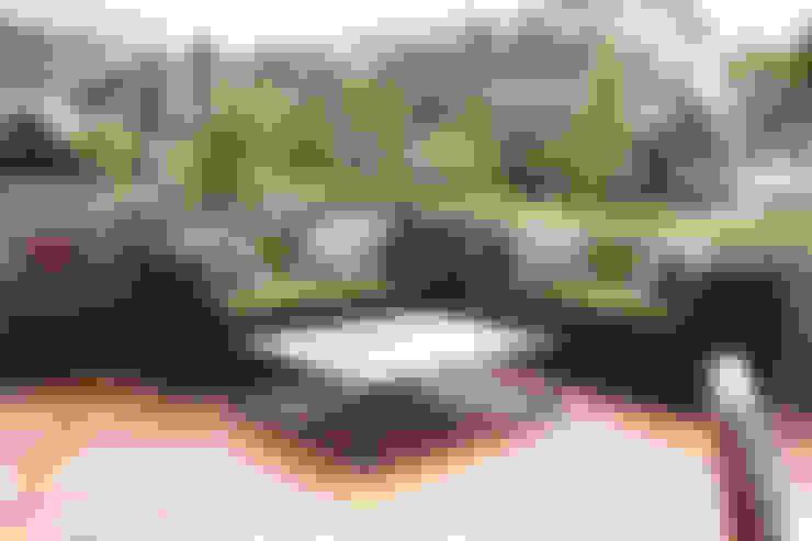 Sala para terraza: Balcones y terrazas de estilo  por Mob