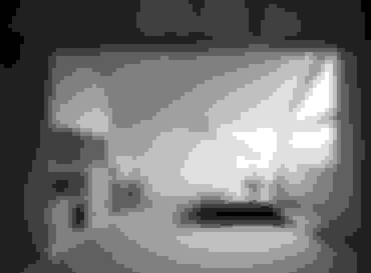 Living room by 加藤將己/将建築設計事務所