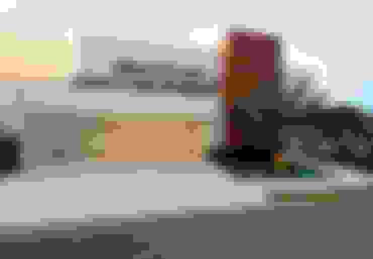 Residência J&F - projeto arquitetônico: Paulo Delmondes | fotos: Gilson Barbosa: Casas  por Studio Gilson Barbosa