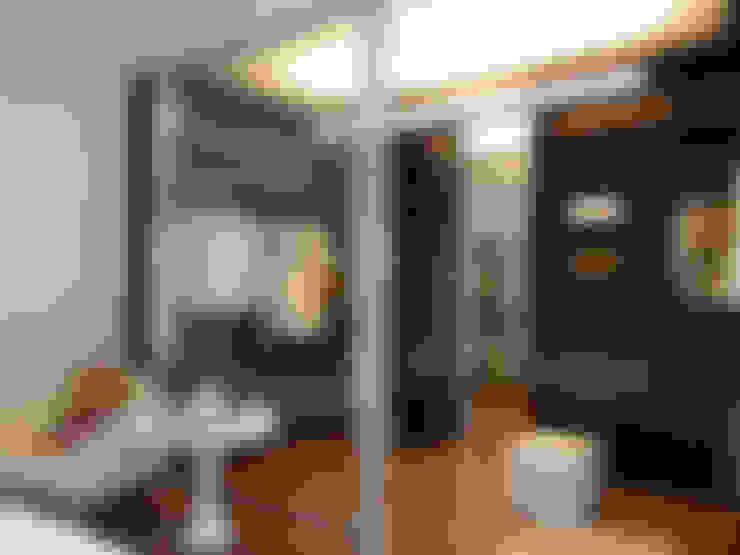 Vestidores y placares de estilo  por Denise Barretto Arquitetura