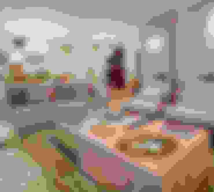 Salas de estilo  por Mariane e Marilda Baptista - Arquitetura & Interiores