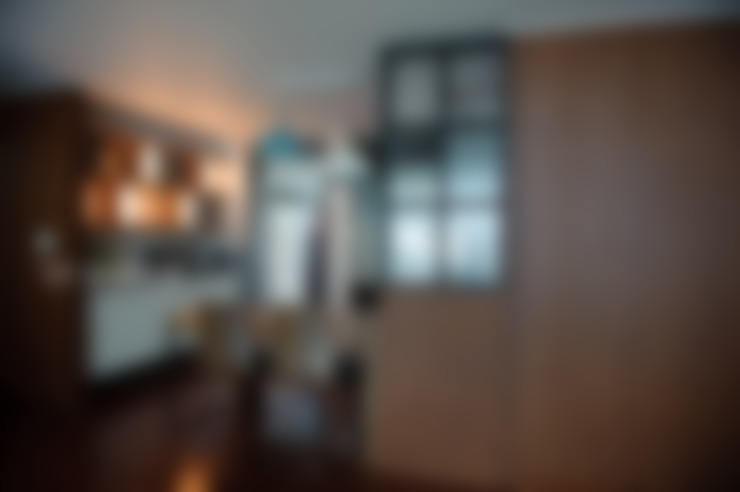 아이들의 웃음이 피어나는 빨간지붕 다락방 인테리어 : 퍼스트애비뉴의  주방