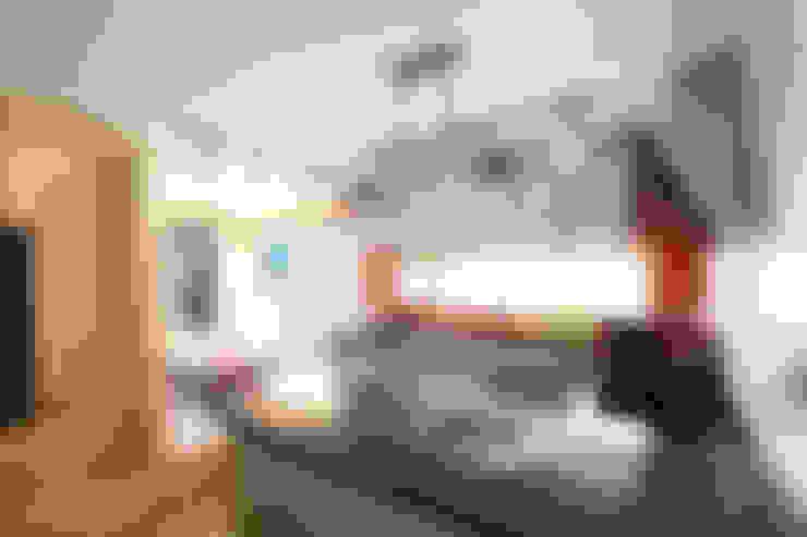 부부공간 주방: 주택설계전문 디자인그룹 홈스타일토토의  주방