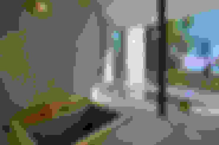 Bathroom by アトリエ環 建築設計事務所
