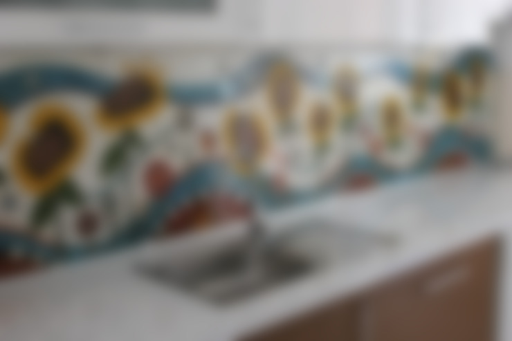 Projekty,  Kuchnia zaprojektowane przez Lepistes Seramik Atölyesi