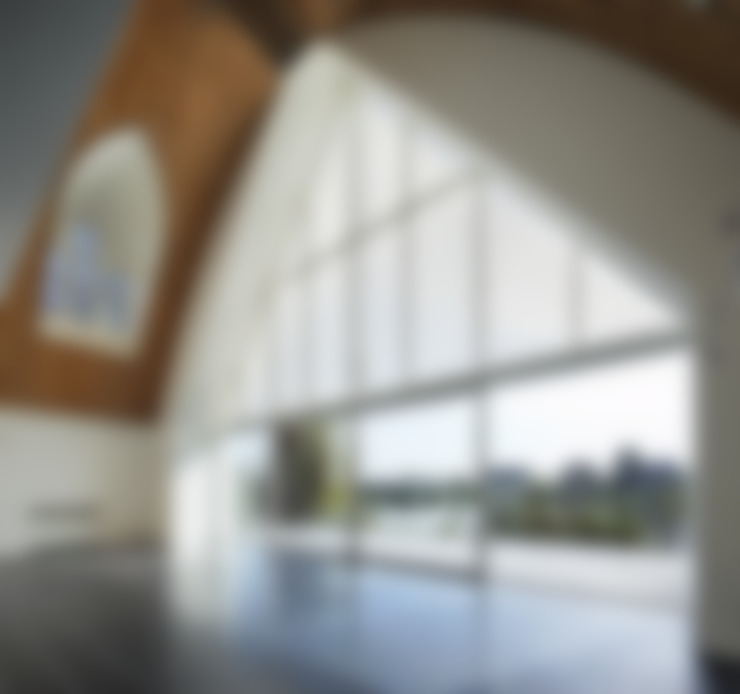 Achtergevel interieur:  Eetkamer door Ruud Visser Architecten