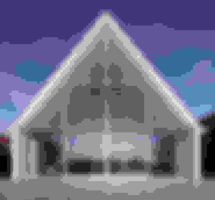 Achtergevel aan de Rotte:  Huizen door Ruud Visser Architecten