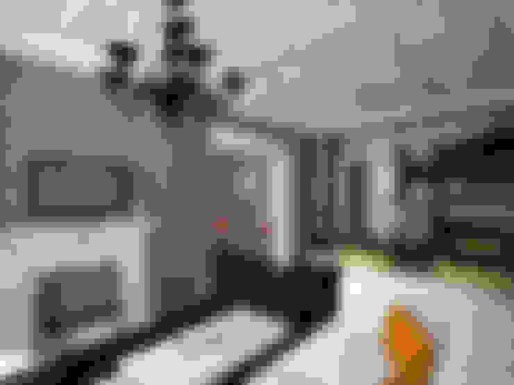 """ Палитра Мондриана ""   Квартира 64,2 кв.м, Москва: Гостиная в . Автор – Krupp Interiors"