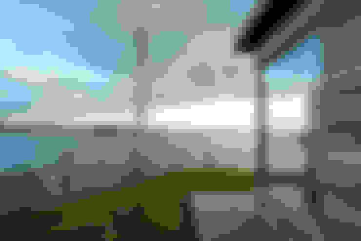Het uitzicht:  Terras door OX architecten