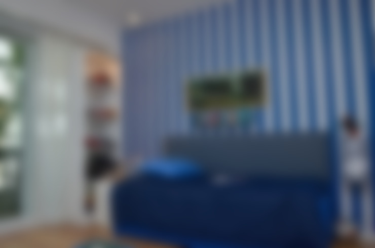 Piso en Palermo I: Dormitorios de estilo  por GUTMAN+LEHRER ARQUITECTAS