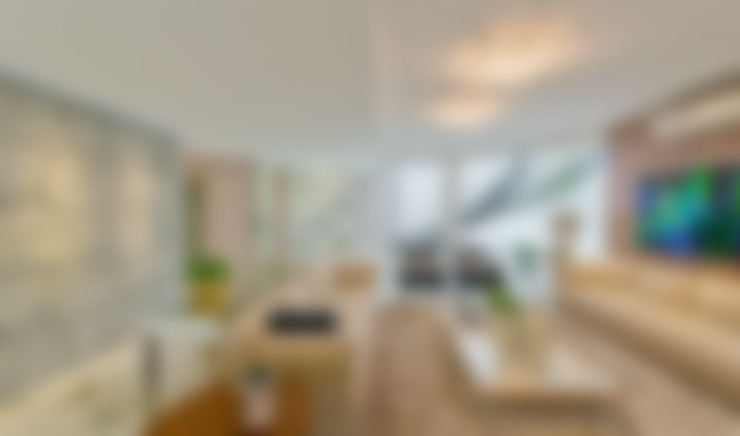 Wohnzimmer von Espaço do Traço arquitetura