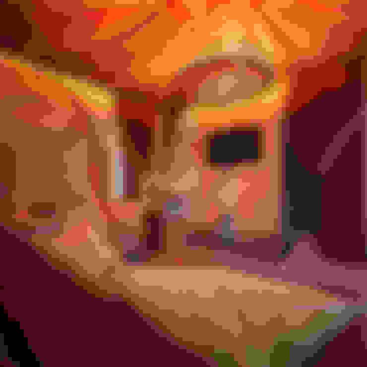 Восток: Гостиная в . Автор – AbcDesign