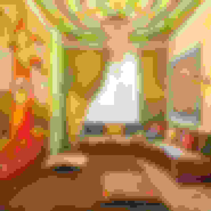 Восток: Спальни в . Автор – AbcDesign