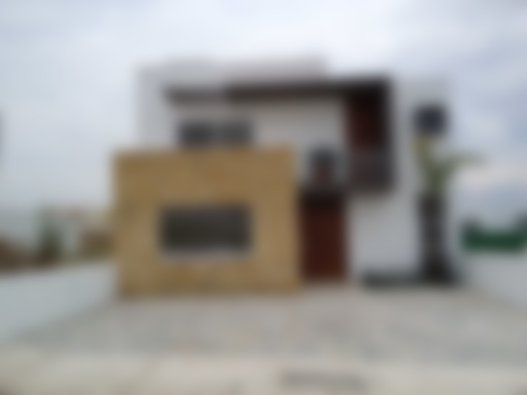 Projekty,  Domy zaprojektowane przez SANTIAGO PARDO ARQUITECTO