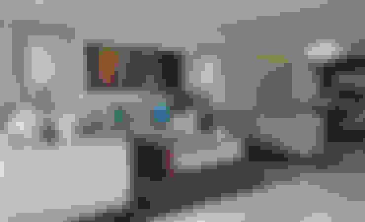 Salas / recibidores de estilo  por VICTORIA PLASENCIA INTERIORISMO