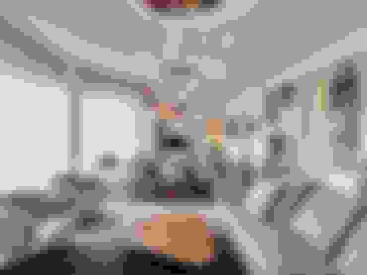 Salas / recibidores de estilo  por Studio Marco Piva