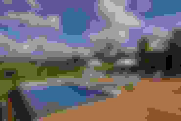 泳池 by Carmen Saraiva Arquitetura